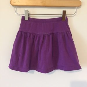 Lands End skirt with shorts underneath